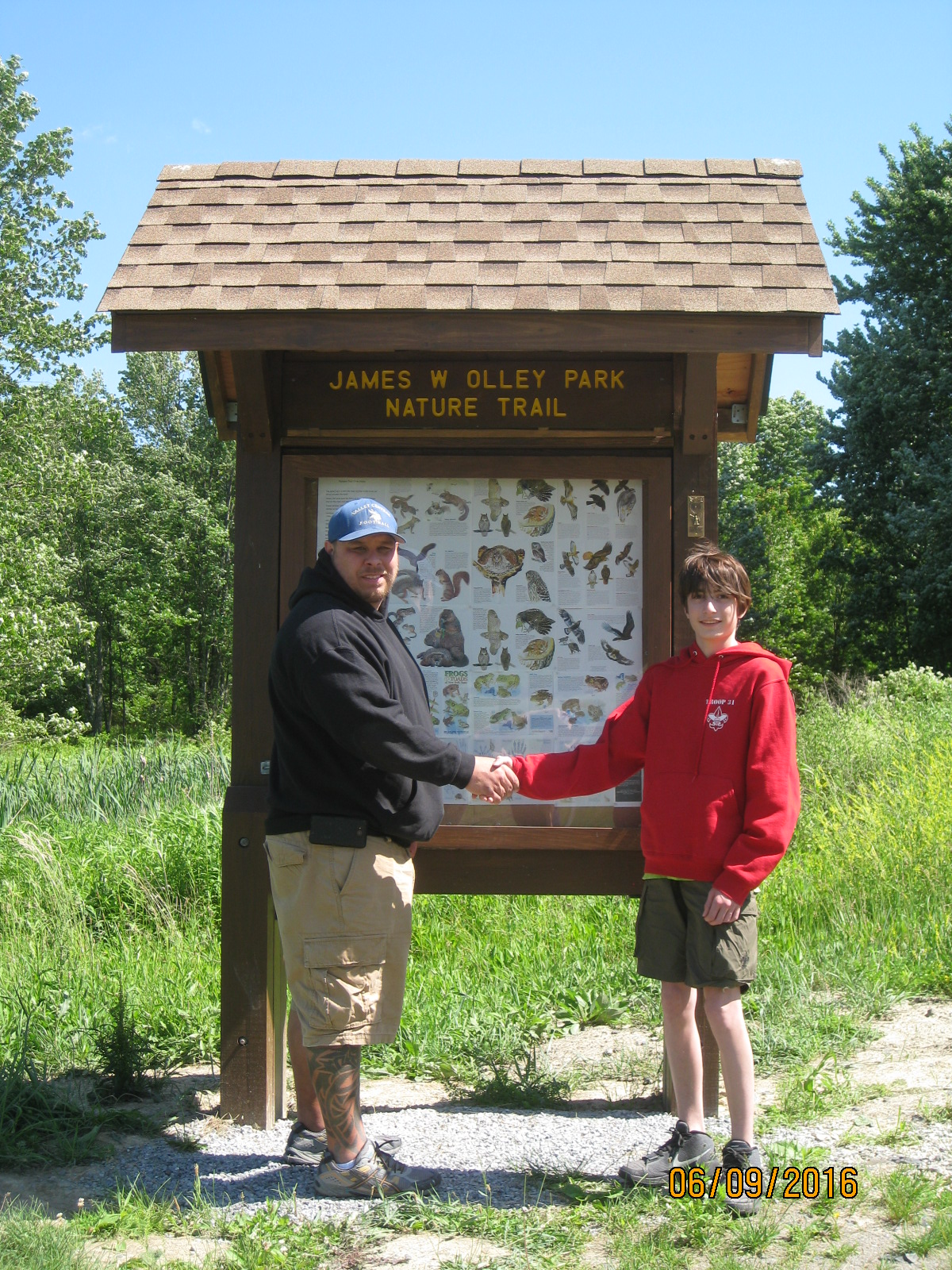 Olley Park nature trail