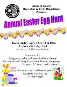 2014 Easter Flyer