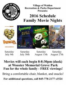 movie nights 2016