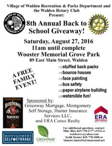 Back To School GIve Away Flyer2016